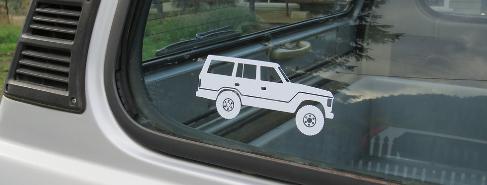 Landcruiser Silhouette Decal