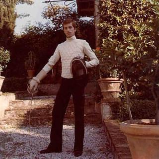 Renzo Musumeci Greco da giovane