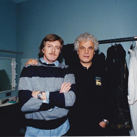 Renzo Musumeci Greco con Michele Placido