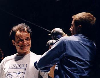 Renzo Musumeci Greco con Massimo Ranieri
