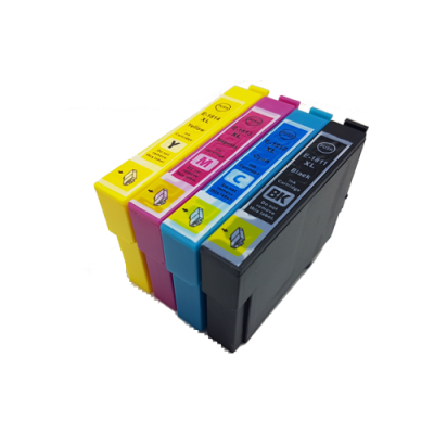 Compatible Epson 18XL Ink Cartridge High Capacity Black Cyan Magenta Yellow