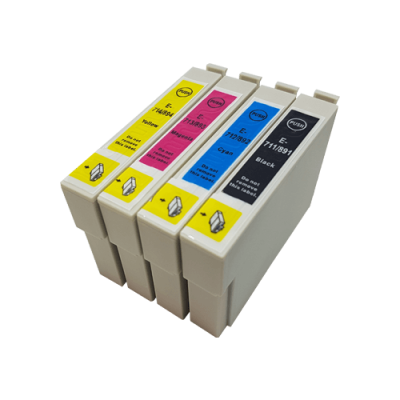 Compatible Epson T715 Ink Cartridge High Capacity Black Cyan Magenta Yellow