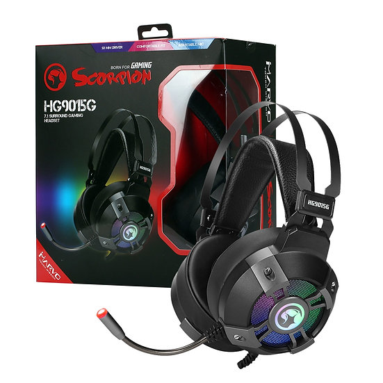 Marvo Scorpion HG9015G 7.1 Virtual RGB Gaming Headset