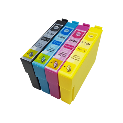Compatible Epson T1285 Ink Cartridge High Capacity Black Cyan Magenta Yellow
