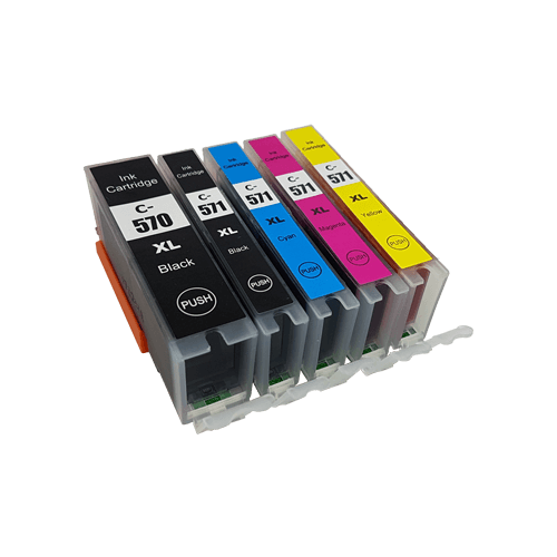Compatible Canon PGI-570XL CLI-571XL Ink Cartridge Multipack