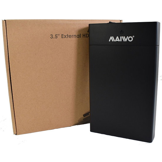 "Maiwo USB 3.0 3.5"" External Hard Drive Enclosure"