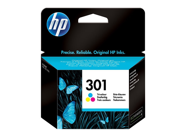 HP 301 Colour Original Ink Cartridge