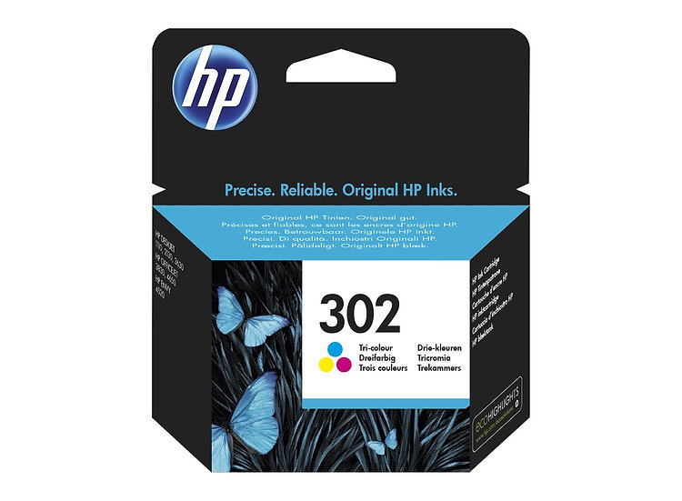 HP 302 Colour Original Ink Cartridge