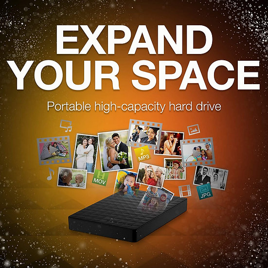Seagate 1TB USB 3.0 Expansion Portable External Hard Drive