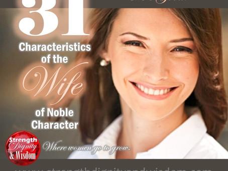 31 Características da Esposa de Caráter Nobre: 3 - Ela é bondosa