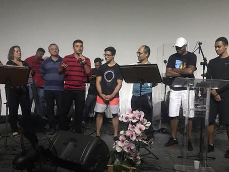 A festa do batismo do Diogo Speranza