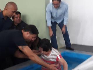 O batismo da gentil Mitiko