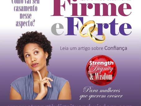 10 Aspectos de um casamento firme e forte - 2º Aspecto: Confiança