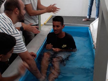 Batismo do Erik, filho da Antônia