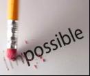 Arrependimento: O impossível  se torna o possível.