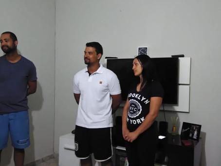 Festa no céu! Um casal foi batizado na igreja de Ribeirão Preto