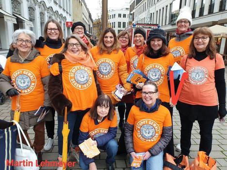 Stoppt Gewalt gegen Frauen!