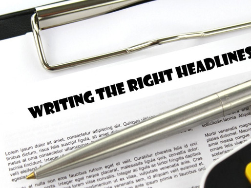 A Heads-up on Writing the Right Headlines