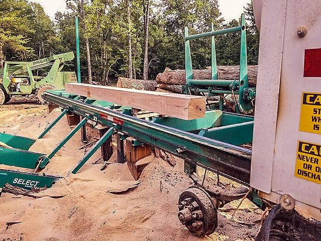 Custom Cut Timber Frame Home | NH Sawmill|Custom Lumber|East