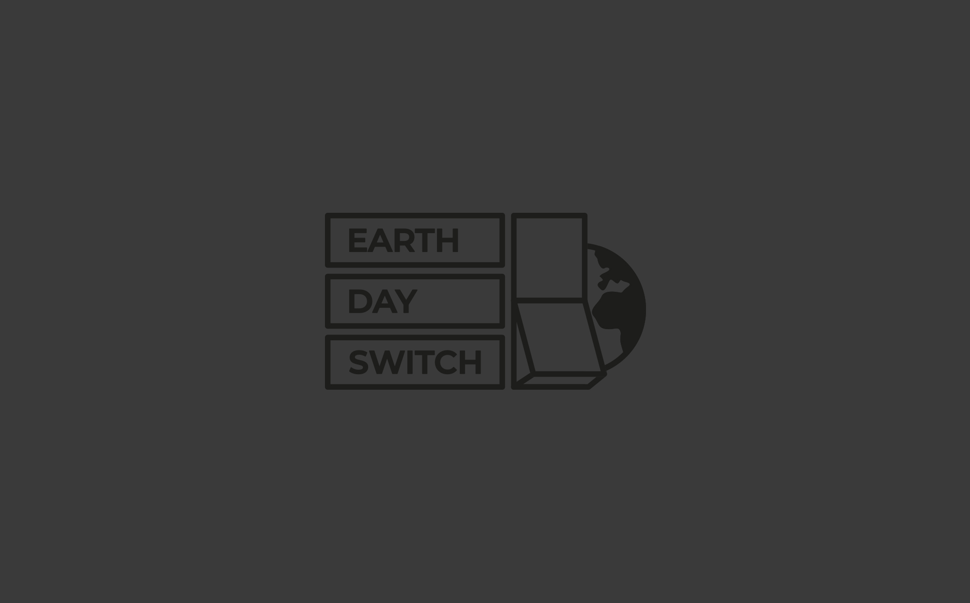 Earth Day Switch Logo (Switched Off)