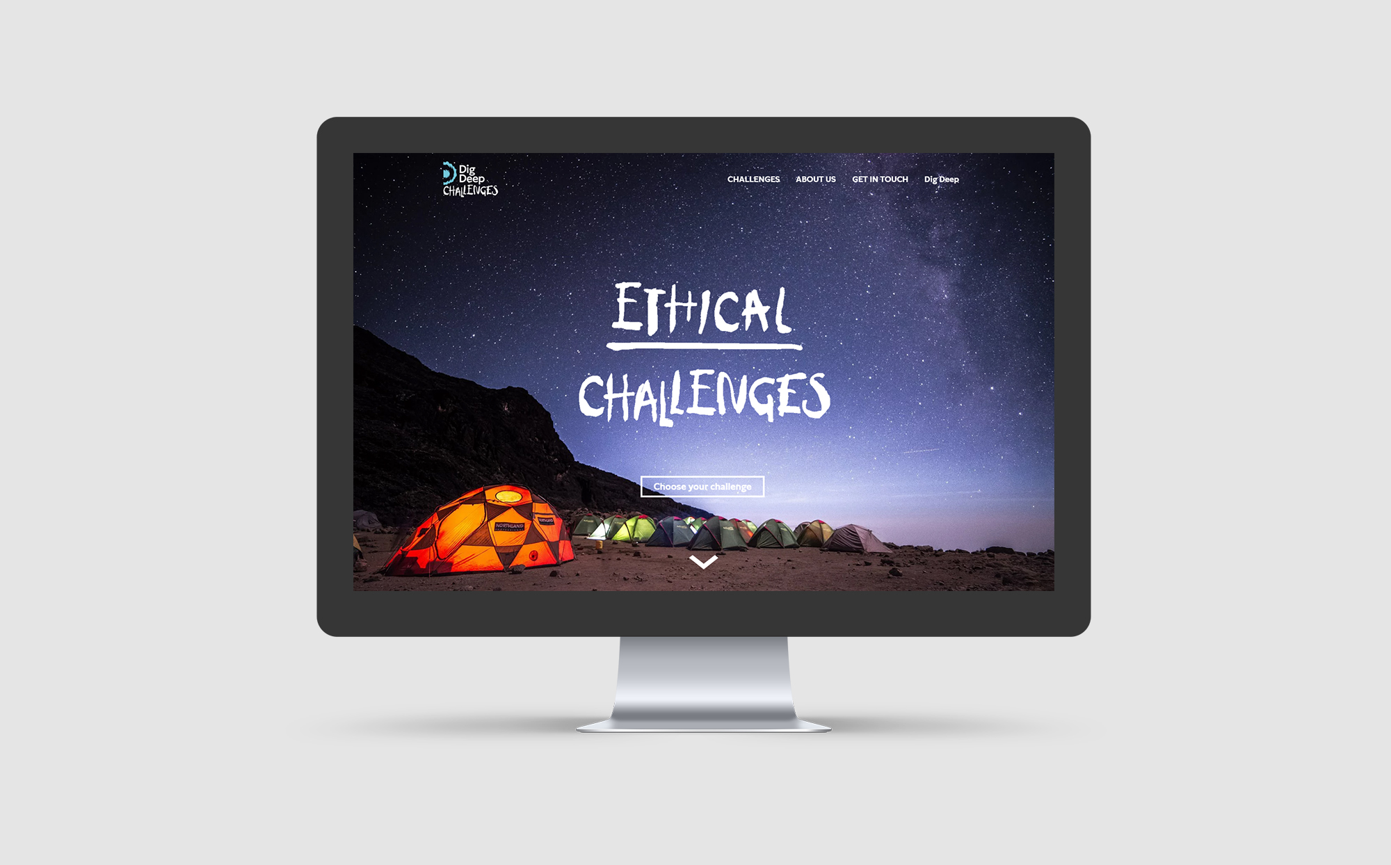 Dig Deep Challenges Website