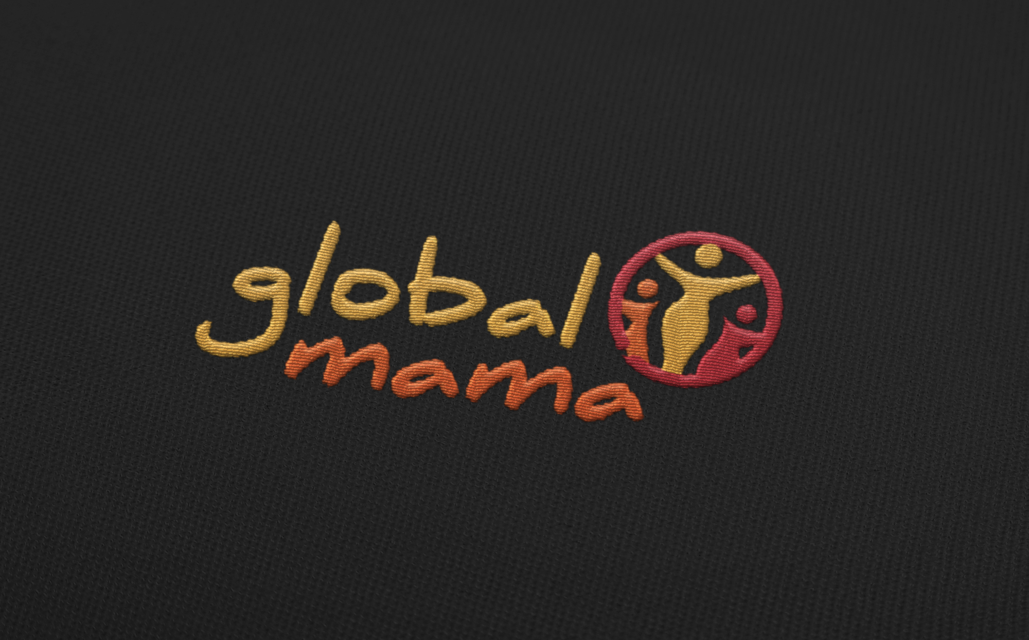 Globalmama Embroidered Logo