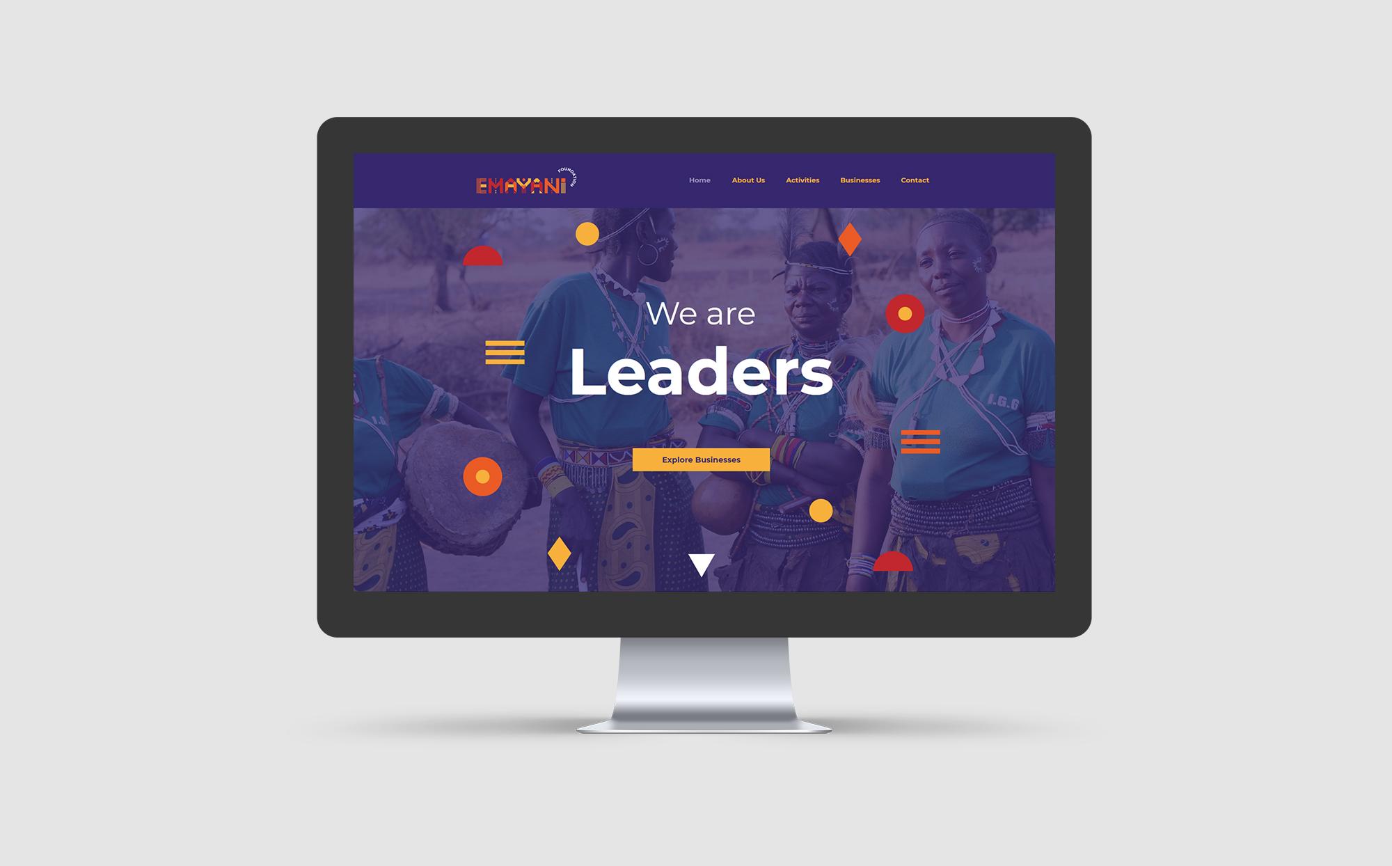 Emayani Foundation Website
