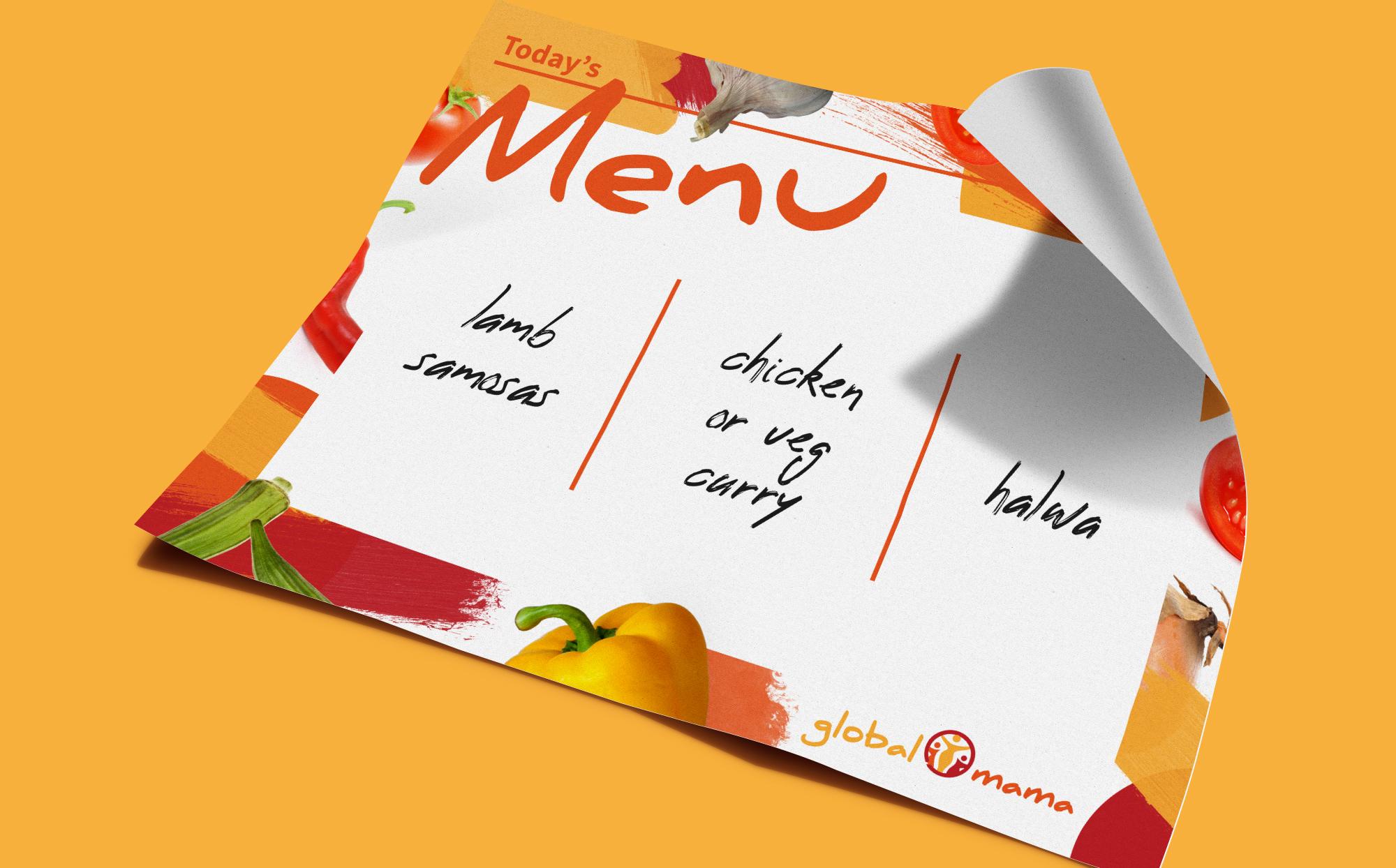 Globalmama Catering Menu