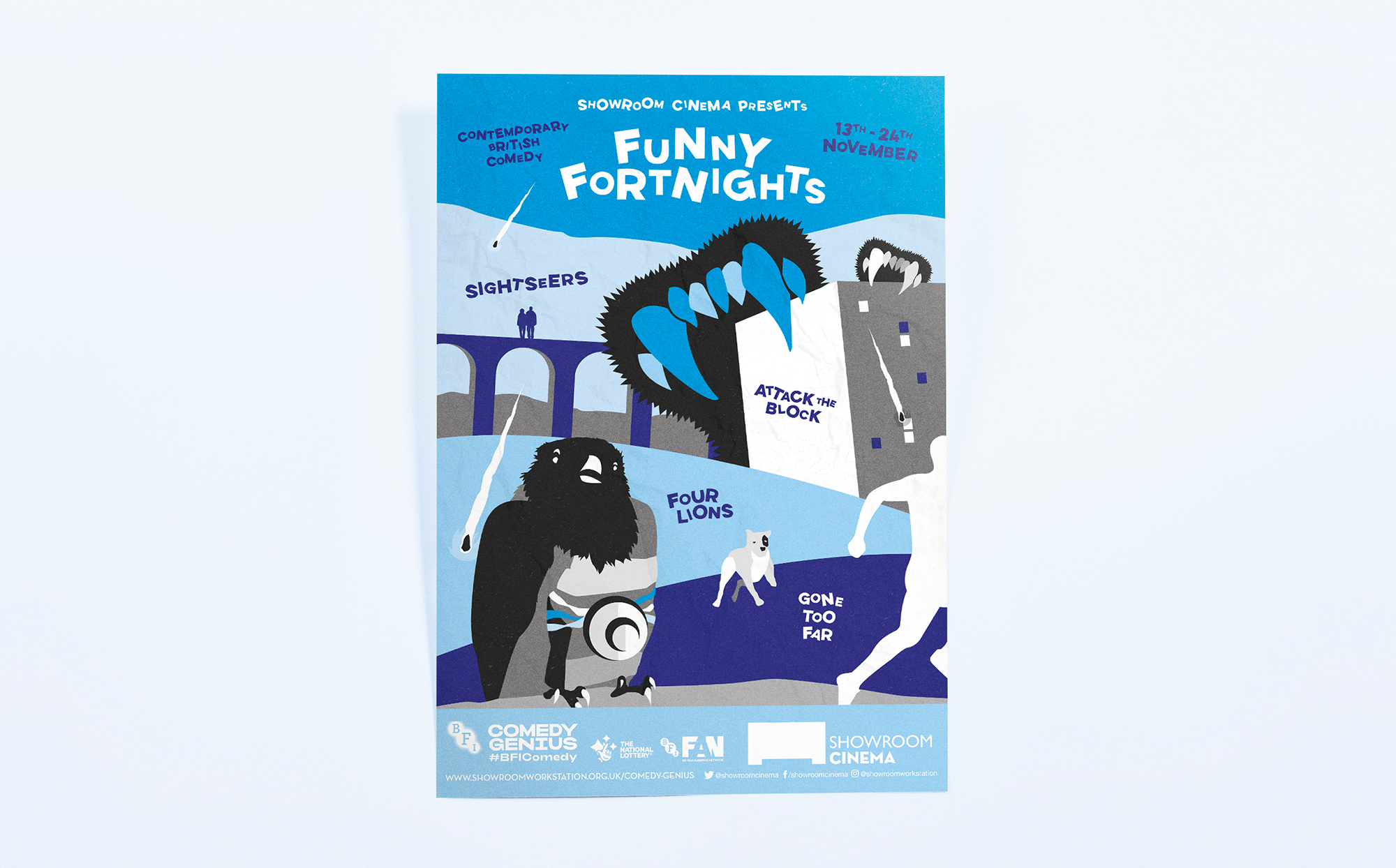 Contemporary British Comedy Poster