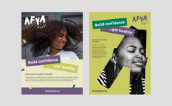 Afya Woman Poster & Flyer