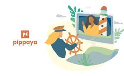Pippaya Logo & Illustration