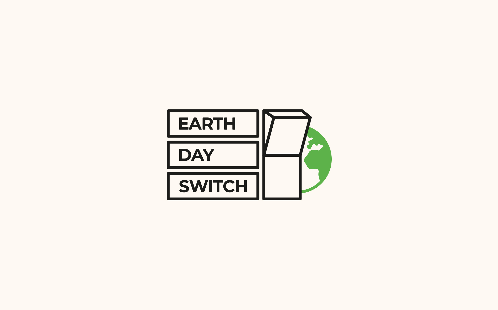 Earth Day Switch Logo