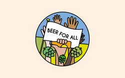 Beer For All Pin
