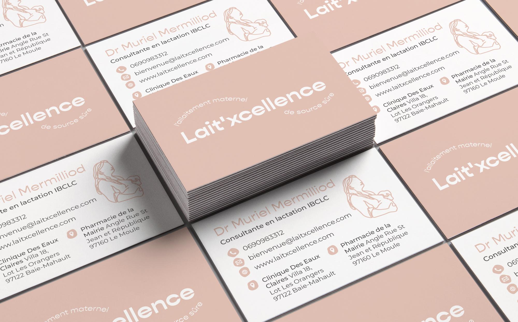 Lait'xcellence Business Cards