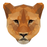 Lionne géométrique