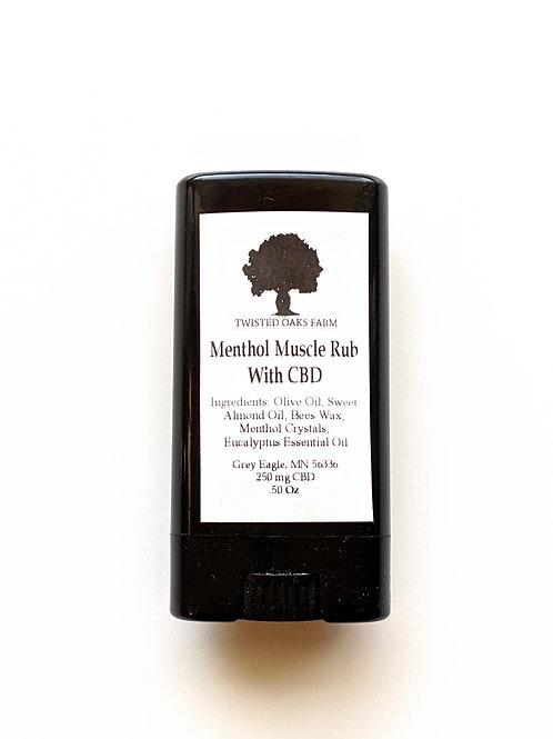 Menthol Muscle Rub (milligrams)