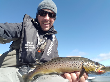 Trout fishing -  Falls Creek