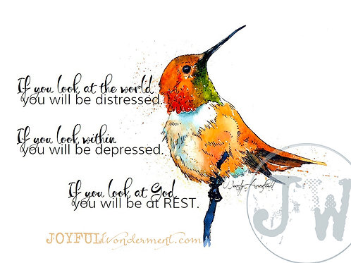 At Rest with God - Art Print