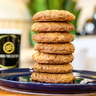 our signiture coconut oatmeal cookie