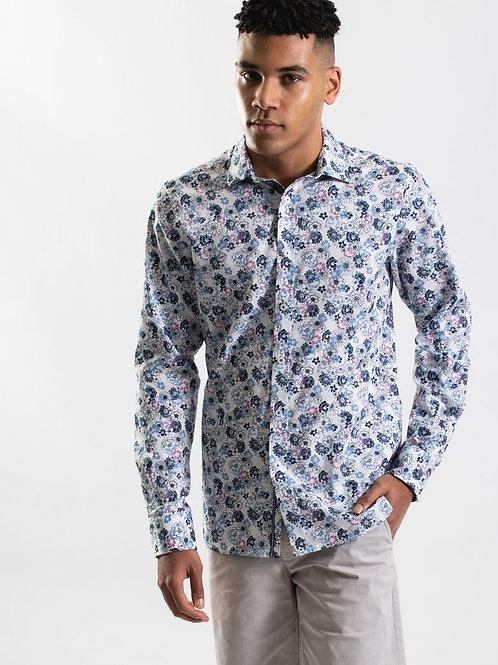 JAMES HARPER Floral Bloom Print Shirt