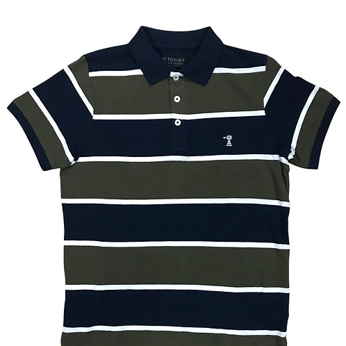 Pilbara Men's Stripe Polo
