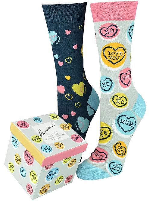 "BAMBOOZLD ""Hearts & Candy"" Gift Box"