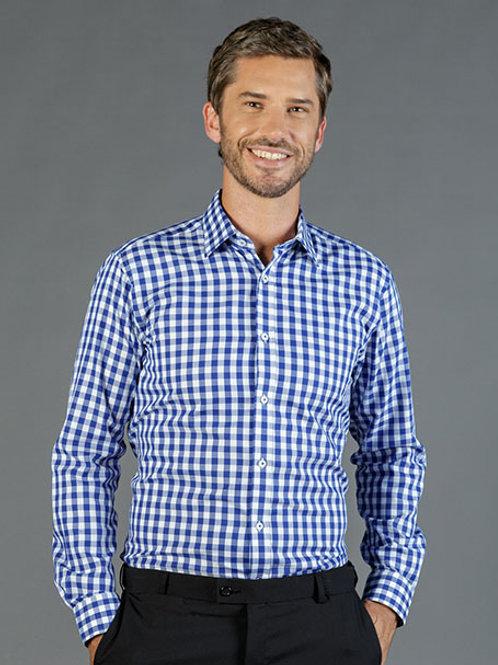 GLOWEAVE 1710L Royal Oxford Long Sleeve Shirt