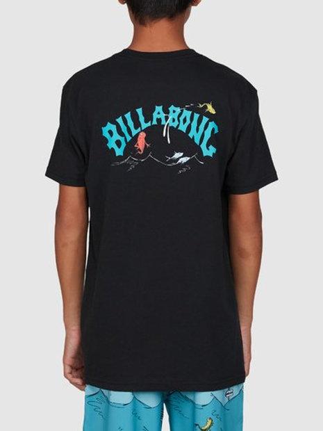 BILLABONG Dr. Seuss Boys Red Fish T'Shirt
