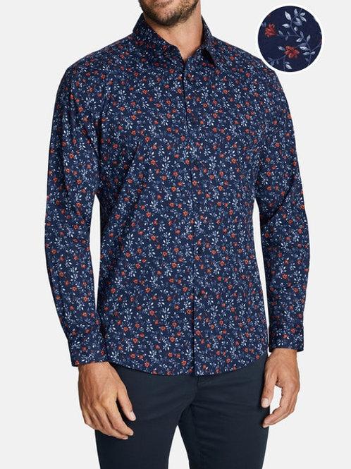 CONNOR Stratform Slim Long Sleeve Shirt