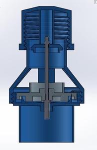 Modelagem da válvula PEEP. Respiradores Mecânicos, UFRJ Nautilus