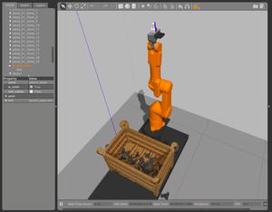 Simulação de um Braço Mecânico no Gazebo - UFRJ Nautilus