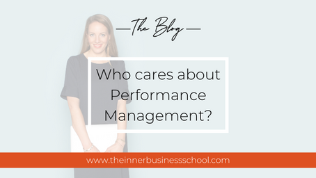 Who cares about performance management?