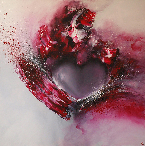 Love is in the Art - 80 x 80 cm