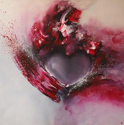 Love is in the Art - 80 x 80 cm
